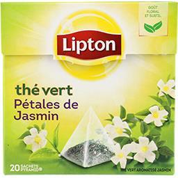 Thé vert pétales de jasmin