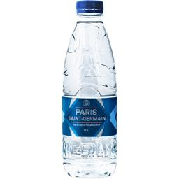 Eau de source Paris Saint Germain,INTERMARCHE,la bouteille de 50 cl