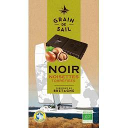 Tablette de chocolat noir noisettes torréfiées GRAIN DE SAIL
