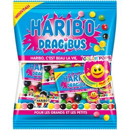 Haribo Bonbons Dragibus Color Pops le sachet de 200 g