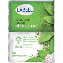 Masque film Peel-Off Détoxifiant thé vert et vitamin...