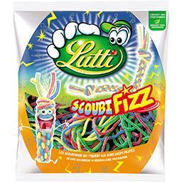 Lutti Bonbons ScoubiFizz goûts fruités