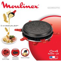 Raclette + gril Accessimo