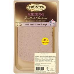 Prunier Pâté de foie la barquette de 170 g