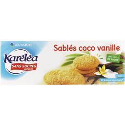 Sablés coco vanille sans sucres ajoutés