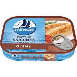 Petit Navire Filets de sardines grillés
