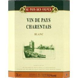 Vin blanc de pays charentais