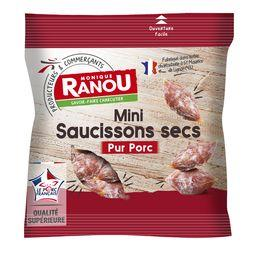 Mini saucissons secs pur porc