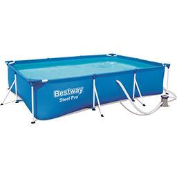 Kit piscine à poser sur le sol 3,00mx2,01mx66cm
