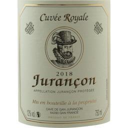 Jurançon, cuvée royale, vin blanc