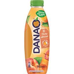 Danao Boisson pêche abricot sans sucres ajoutés la bouteille de 900 ml