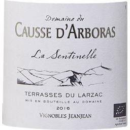 Terrasses du Larzac Domaine du Causse D'Arboras La Sentinelle BIO vin Rouge 2015