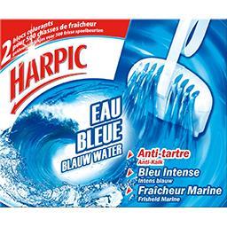 Blocs WC Eau Bleue anti-tartre fraîcheur marine