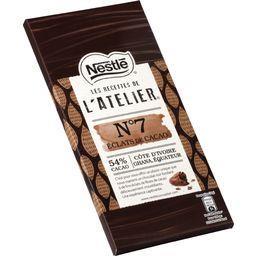 Les Recettes de l'Atelier - Chocolat noir éclats cacao N°7