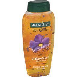 Skin Garden Gelée de douche aux pétales violette & m...