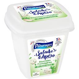 Salade & Apéro - Bouchées fromagères ail & fines her...