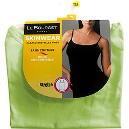 Caraco Skinwear bretelles fines taille 1/2 vert