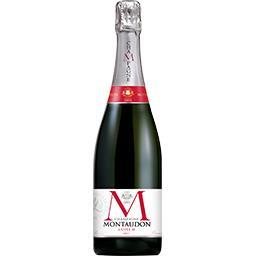 Montaudon Champagne cuvée M brut la bouteille de 75 cl