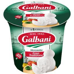 Galbani Mozzarella le pot de 200 g net égoutté