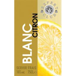 Boisson blanc citron