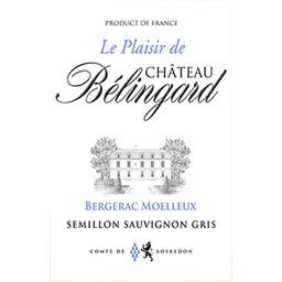 Monbazillac Le Plaisir de Château Bélingard vin Blan...