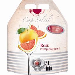 Boisson aromatisée à base de vin rosé pamplemousse cap soleil