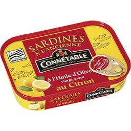 Sardines à l'ancienne à l'huile d'olive au citron