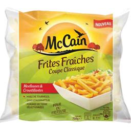 Frites fraîches coupe classique