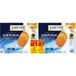 Labeyrie Saumon fumé sauvage du Pacifique le paquet de 4 tranches s - 280 g