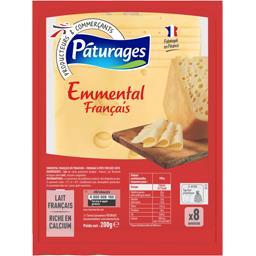 Emmental français en tranches