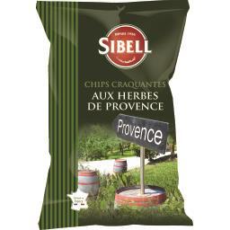 Chips aux herbes de Provence