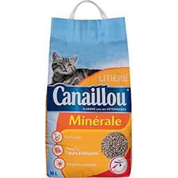 Litière minérale pour chat