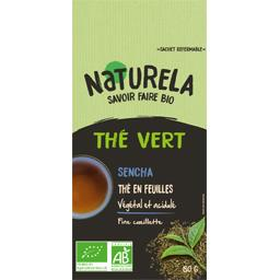 Thé vert en feuille Sencha BIO