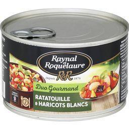 Duo Gourmand - Ratatouille & haricots blancs