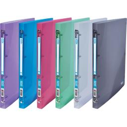 Maxi classeur cahier Hawaï 24x32 coloris assortis