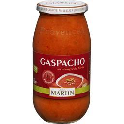 Jean Martin Gaspacho au vinaigre de Xérès le bocal de 500 g