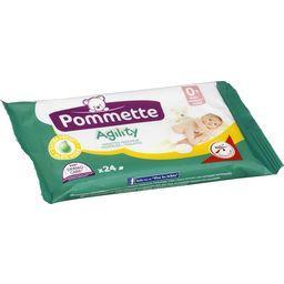 Agility - Lingettes fraîcheur 0+ mois