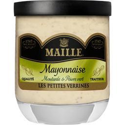 Mayonnaise moutarde & poivre vert qualite traiteur