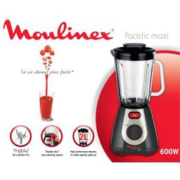 Blender Faciclic maxi 600W, noir