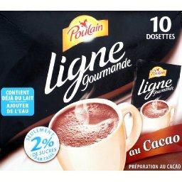 Dosettes pour boisson instantanée chocolatée