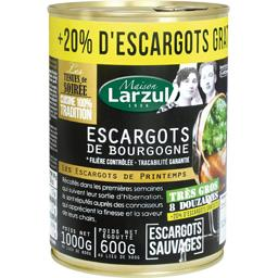 Larzul Escargots de Bourgogne la boite de 500 g net égoutté