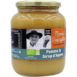Compote pomme & sirop d'agave BIO