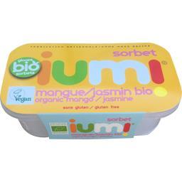 Iumi Sorbet mangue jasmin BIO le bac de 265 g