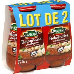 Bolognaise champignons