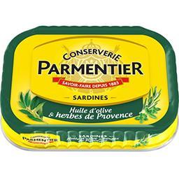 Sardines huile d'olive & herbes de Provence