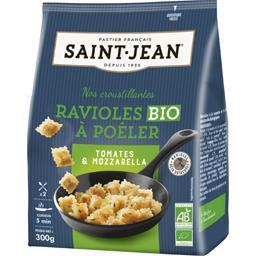 Saint Jean Ravioles à poêler tomate & mozzarella BIO