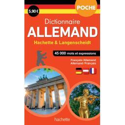 Dictionnaire de poche Allemand hachette