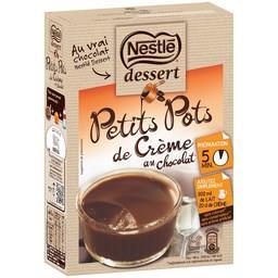 Dessert - Petits Pots de Crème au chocolat