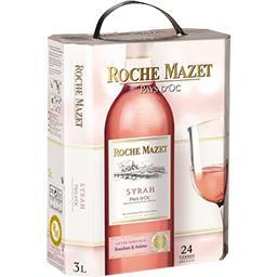 Le vin au verre, vin rosé de pays d'Oc