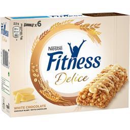 Fitness - Barre de céréales Délice chocolat blanc